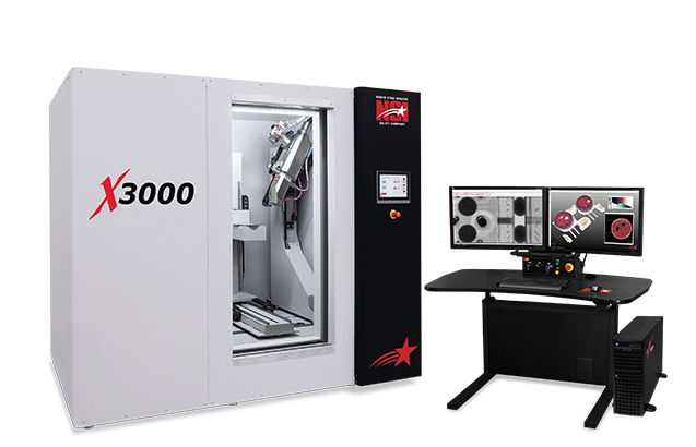 X3000 NDT 2D & 3D X-Ray Inspection System