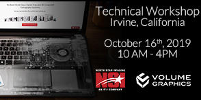 North Star Imaging and Volume Graphics Team up for a Technical Workshop in California
