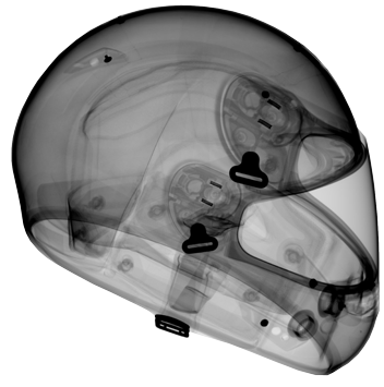 2D DR Industrial X-ray of Helmet